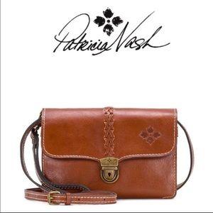 Patricia Nash Genuine Leather Shoulder Bag!